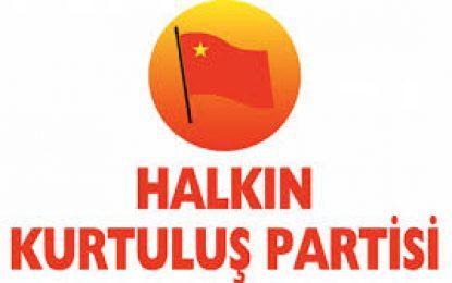 """HKP Kocaeli İl Örgütü: """"AKP'giller kamu malı hırsızlıklarının, vurgunlarının, talanlarının faturasını Halkımıza çıkarıyor"""""""