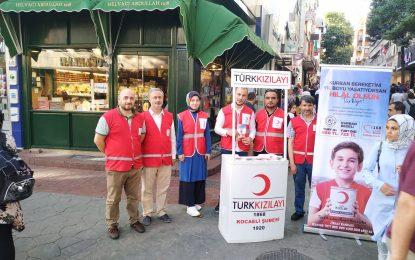 Kocaeli Kızılay, kurban kampanyasını vatandaşlara anlattı…