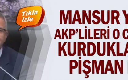 Mansur Yavaş, AKP'lileri o cümleyi kurduklarına pişman etti
