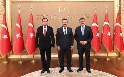 İl Emniyet Müdürlerinden Vali Aksoy'a Ziyaret