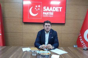 Saadet'in Yeni Başkanı Mutlu: Ülkemiz Her yönü ile Tıkandı, Değişim Şart!