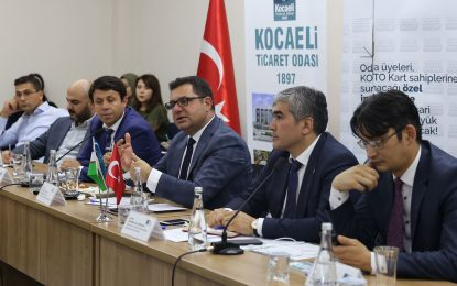 Özbekistan ile iş yapma fırsatları KOTO'da anlatıldı