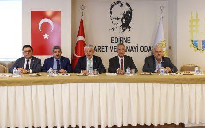 KOTO ile Edirne TSO arasında ticaret köprüsü kuruluyor