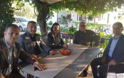 Başkan Hürriyet'ten Sirmen ve Erenkaya'ya Ziyaret