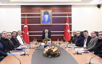 İl Güvenlik ve Asayiş Koordinasyon Toplantısı  Kocaeli Valiliği'nde Gerçekleştirildi
