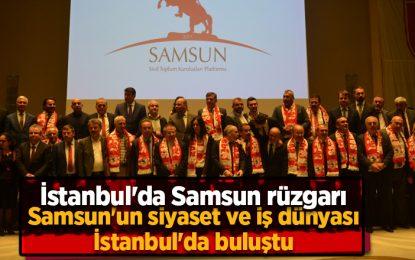 Samsun'un en ünlü isimleri, muhteşem galada buluştu