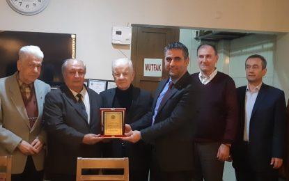 Kandıra GİOSB Yönetim Kurulu Başkanı Mehmet  Başol, Kocaeli Kandıralılar Derneği'nde Konuştu