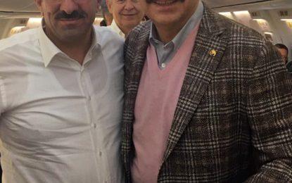Başkan Bulut, Hisarcıklıoğlu ile birlikte Berlin Programını tamamladı