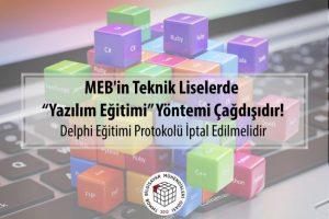"""MEB'in Teknik Liselerde """"Yazılım Eğitimi"""" Yöntemi Çağdışıdır!"""