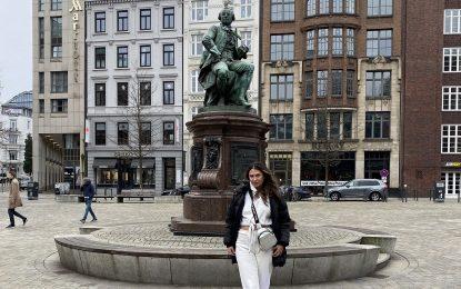 Hamburg fatihi Nilay Dorsa; keyifli bir gezi ve çalışma oldu
