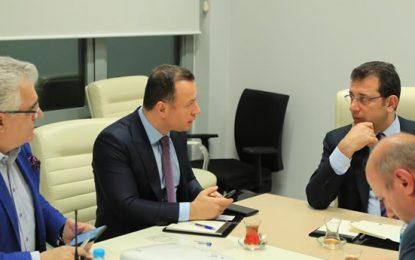 İstanbul B. Başkanı İmamoğlu'ndan, Malatya ve Elazığ'a 'geçmiş olsun' ziyareti