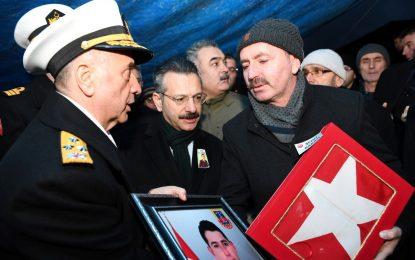 Şehidimiz Jandarma Astsubay Fatih Karagöz Dualarla Son Yolculuğuna Uğurlandı