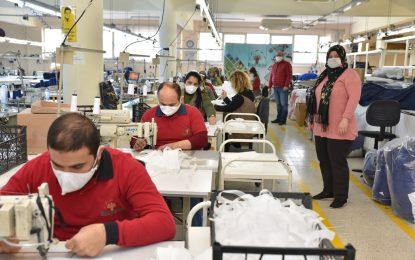 KSO Sağlık çalışanlarına maske üretimi başlattı
