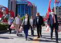 Başkan Hürriyet 65 yaş üstü vatandaşlarla bayramlaştı