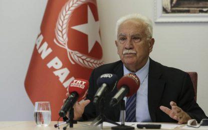 """MHP'den Perinçek'e çok sert tepki! """"Müptezel, siyasi ederi 0,25"""""""
