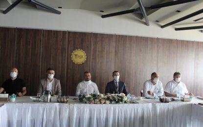 Kocaeli Sporu Sevenler Derneği Başkanı Celal Kavaz basınla buluştu