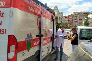 İzmit Belediyesi Hayvan Ambulansı yaralı güvercine kanat oldu