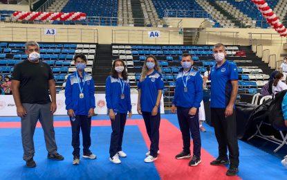 Karateciler engel tanımadı