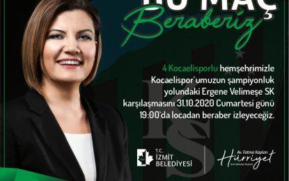 Başkan Hürriyet'ten Kocaelisporlulara loca jesti