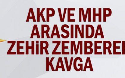 AKP ve MHP arasında zehir zemberek kavga