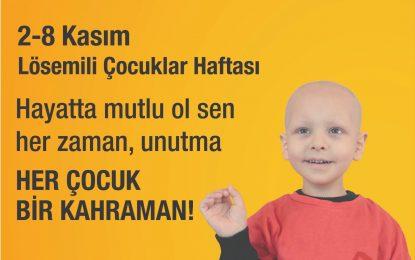 İzmit Belediyesi, Lösemili çocukları gülümsetecek