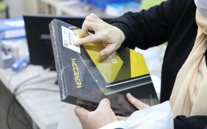 İzmit Belediyesinin eğitim desteğiyle öğrenciler tabletlerine kavuştu