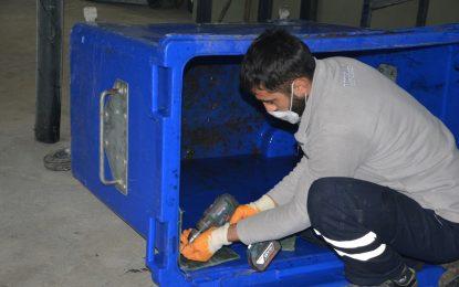 İzmit Belediyesi, çöp konteynerlerini kendi imkanlarıyla yenileyerek %85 kar sağlıyor