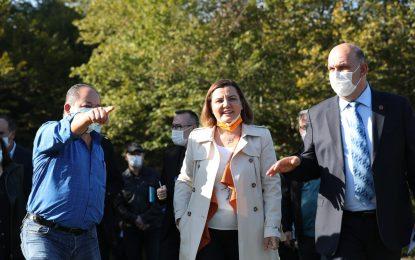 Akmeşeliler yeni haftaya Başkan Hürriyet'le başladı