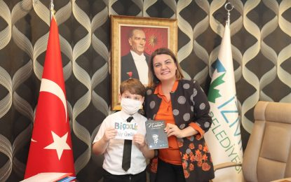 Geleceğin mimarı küçük Taha, Başkan Hürriyet ile İzmit için buluştu