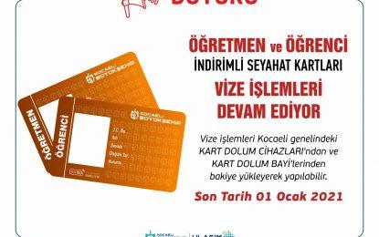 Öğretmen ve öğrencilerin seyahat kartı vize işlemleri devam ediyor