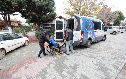 ''Engelsiz Taksi'' ile 5 bin 213 ulaşım hizmeti  Engelli vatandaşların ulaşım aracı oldu