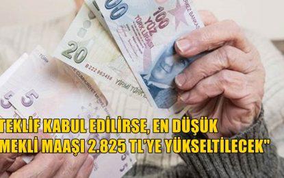 """CHP'den """"en düşük emekli maaşının asgari ücret seviyesine yükseltme"""" teklifi"""