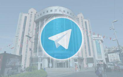 İzmit Belediyesi Telegram'a katıldı