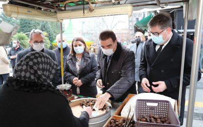 CHP Genel Başkan Başdanışmanı İstanbul Milletvekili Toprak ve PM Üyesi Aydın Milletvekili Tezcan, Başkan Hürriyet'i ziyaret etti