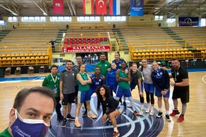 İzmit Belediyespor Avrupa'da Türk Bayrağı'nı dalgalandırıyor