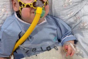SMA TİP 1 hastası Hamza , ilacına kavuştu