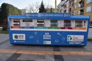 İzmit Belediyesi geri dönüşüm projelerine bir yenisini daha ekledi