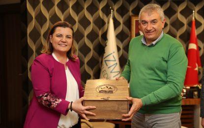 Başkan Hürriyet, Fındıklı Belediye Başkanı'nı ağırladı
