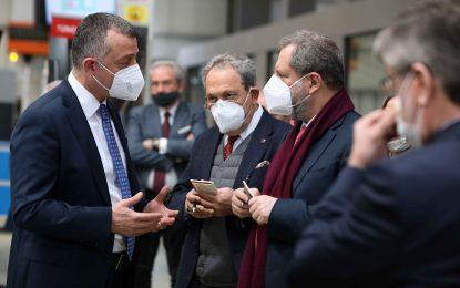 """Başkan Büyük akın,  """"Ustam Projesi Türkiye'ye modeldir"""""""