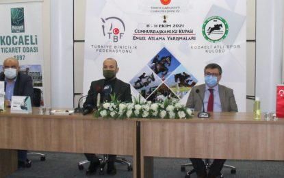 Kocaeli Atlı Spor'dan Cumhurbaşkanlığı Kupası Engel Atlama Yarışması Medya Tanıtım Toplantısı KOTO'da yapıldı