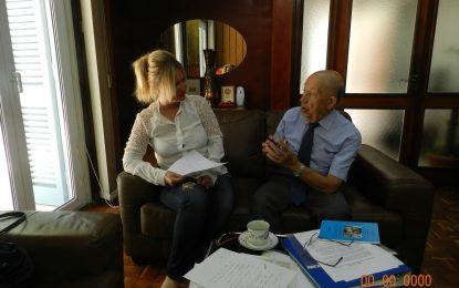 Yurdagül BEYOĞLU ATUN'dan Rahmete Kavuşan Rüstem Tatar ile röportaj
