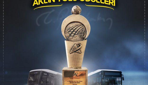 """Kocaeli Büyükşehir Belediyesi, SUMMITS Uluslararası Akıllı Ulaşım Sistemler Zirvesinde """"Belediyecilik"""" ödülüne layık görüldü"""