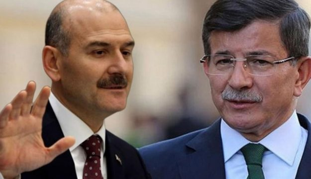 Davutoğlu'ndan hükümete yüklendi! Soylu, Erdoğan'ı tehdit mi ediyor?