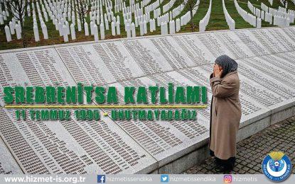 Srebrenitsa'da Şehit Edilen 8372 Boşnak Kardeşimizi Katliamın 26. Yılında Rahmetle Anıyoruz