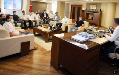 Bal takımlarından Başkan Büyükakın'a destek teşekkürü