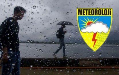 Marmara'nın Güney ve Doğusunda Kuvvetli Yağış Bekleniyor!