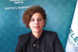 Gelecek Partisi Bartın İl Başkanı Yasemin Dora Kurtkaya Konut piyasasında yaşanan ve kira değişimlerine ilişkin açıklamalarda bulundu