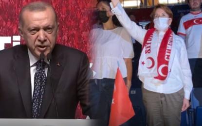 Erdoğan'dan Akşener'e: Yolun açık olsun Meral hanım