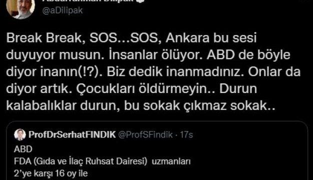 Abdurrahman Dilipak uyardı! Ankara bu sesi duyuyor musun?